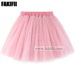 Новый дизайн бутика детей детская одежда одежда девушки повседневный розового цвета юбка летом износа