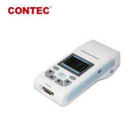 Экг Contec90ручного отведения ЭКГ машины для частоты сердечных сокращений ЭКГ 3-канальный ЭКГ с 20 лет Китай Хэбэй производство