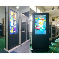Yashi Signage van het Scherm van de Aanraking van 55 Duim Openlucht Digitale LCD Adverterende Speler