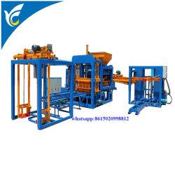 Prédio de Cimento Hidráulico4-15 Qt Pavimentação Oco Espalhadoras amplamente utilizados Hydraform máquina para fazer blocos de tijolos de concreto automática em máquinas de construção