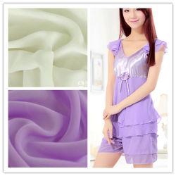 Le commerce de gros et Hot Sale mousseline de soie polyester pour les vêtements de nuit