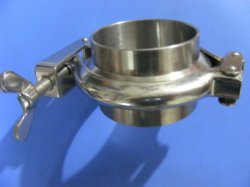 Le collier du tuyau de serrage en acier inoxydable Tri Pince de serrage de tube