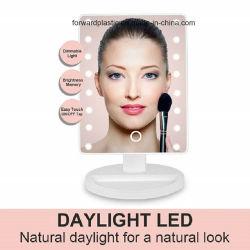 BSCI, Wca, Sqp, wal-Markt Verklaarde Fabriek, de Spiegel van de LEIDENE Ijdelheid van de Make-up met 16 Lichten, het Slimme Scherm van de Aanraking, de Regelbare Omwenteling van 180 Graad, de Dubbele Levering van de Macht