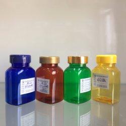 Grau alimentício Pet vazia 120cc plástico frasco farmacêutico vaso de embalagens plásticas de produtos de cuidados de saúde