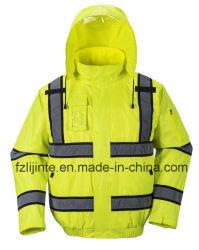 Winter High Visibility Veiligheidsjack Reflecterende Werkkleding