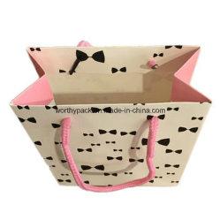 Matt Papier Art feuilleté Shopping sac de papier cadeau