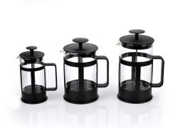 卸し売りポータブル1L 350mlのガラス茶コーヒーフランス人の出版物のマグのコーヒーメーカーのやかん