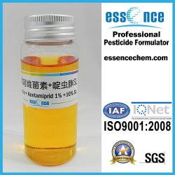 L'abamectine + de 1 % de l'acétamipride 10 % SL