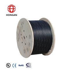 Veste imperméable Anti-Rodent double blindé de câble à fibre optique