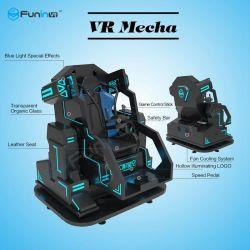 أفضل تجربة استثمار واقعية افتراضية 9d VR Shooting Simulator آلة ألعاب الرواق