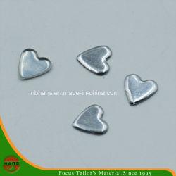 8x8mm de alta calidad de Heart-Shaped Nailhead Plana (HAS50012)