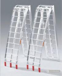 中国の工場供給の携帯用ローディングのAluの傾斜路