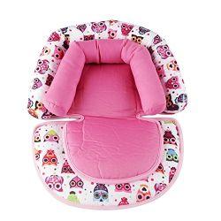 Soporte de cabeza cuello suave para bebés Soporte Almohada para silla de coche