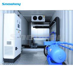 Snowkey facilmente em contentor Móvel Chiller de agua para o resfriamento do sistema