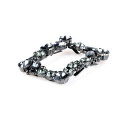 Fibbia con perno in pietra a rinco personalizzata fibbia con cintura in cristallo Pearl, fibbia per scarpe, fibbia per borsa, accessori per scarpe.