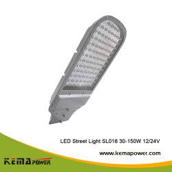 SL018 30W-150W Batería Superior de Diseño de la posición de jefe de la luz solar calle