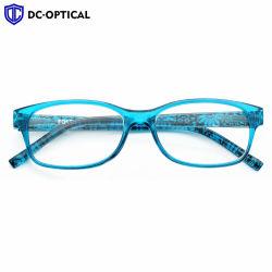 La mujer Mayorista de plástico barato portátiles coloridos decorativos Moda Gafas de lectura