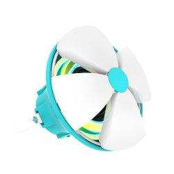 Flower forma bonita piscina sem fios Bluetooth OEM com 7 luz RGB LED ES09