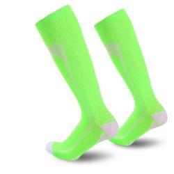 Mann-Frauen-Winter-warmer thermischer Ski trifft starker Baumwollsportsnowboard-komprimierende Skifahren-Fußball-Socken Thermosocks Bein-Wärmer-Socke hart