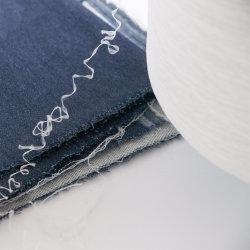 Het witte en Zwarte Garen Spandex van Acy 75/72+40d van de Polyester voor Sokken