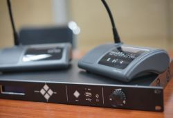 Apparaat van de Stemming van de Microfoon van het Systeem van de Microfoon van de Conferentie van Vissonic het Draadloze