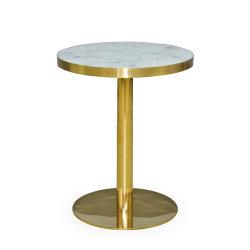 反火の円形のレストラン表の耐火性の現代レストランのダイニングテーブル