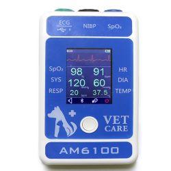 Bluetoothの獣医の器械の動物のモニタペットモニタペット装置の獣医のクリニック装置が付いている装置を監察するAm6100動物の徴候