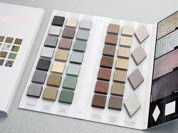 Vários Tipos personalizados da caixa de Amostra para armazenar Suporte/Rocha/suporte de exposições de mosaico de quartzo publicidade/exposições de equipamento