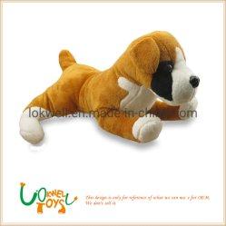 Recheio de pelúcia Deitado Dog animais personalizadas brinquedos de crianças