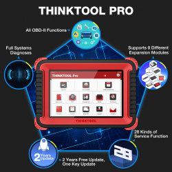Thinkcar Thinktool PRO полная система Auto диагностический прибор кодов ECU брелок программы профессиональный сканер OBD2 Pk запуска X431 V