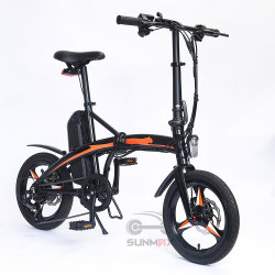 16 Zoll Faltung elektrische Dirt Bikes für Erwachsene verwendet Elektro Fahrräder Ebike Falten