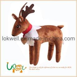 Plush Renas Natal recheado animais decoração doméstica