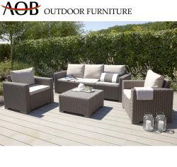 Современные наборы в саду внутренний дворик для отдыха у бассейна отеля дома вид в разрезе плетеной плетеной Lounge диван