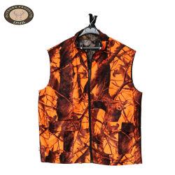 Commerce de gros de haute qualité Personnalisée tactique de camouflage Camo Orange Gilet de chasse