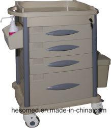 HS-Pmt003b4 l'équipement médical de la médecine de l'hôpital ABS chariot pour la vente