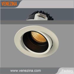 Lampen-Innenbeleuchtung-Abstieg-Licht des Fabrik LED PFEILER Scheinwerfer-kommerzielle tiefe Blendschutzdecken-Punkt-Licht-6With10W