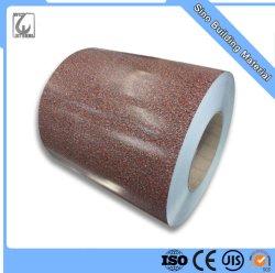 PPGI con patrón de madera para la fabricación de paneles sándwich imprime bobinas de acero