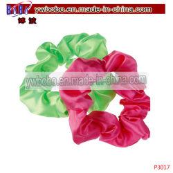 Bande élastique de bande de cheveux Sèche cheveux de velours Scrunchie fille accessoires (P3017)