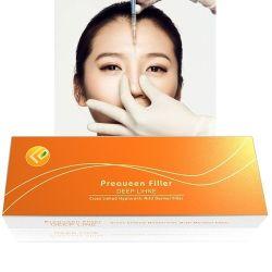 リップのためのPreaueenのHyaluronic酸の注射可能な皮膚注入口か顎または顔2ml