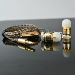 Oortelefoon de van uitstekende kwaliteit Earbuds van het Metaal met Mic