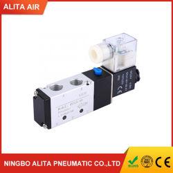 Válvula de solenoide de 4V210-08 Válvula de aire de la electroválvula 2 de 5 puertos de posición la válvula de control neumático válvula magnética eléctrico