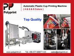 Surface incurvée tasse en plastique de machine d'impression