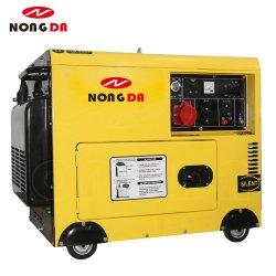 6500дсе 7800дсе 8500дсе 5 ква 6.5kVA 7.5kVA 8 Квт с водяным охлаждением воздуха звуконепроницаемых бесшумный дизельный генератор