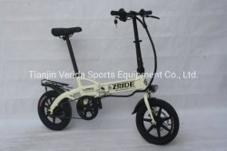 14*10-дюймовый алюминиевого сплава электрический складной велосипед