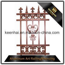 庭のための装飾的なアルミニウム金属の塀の装飾
