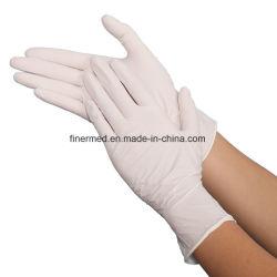 Poudre libre examen examen médicaux jetables Gants en latex chirurgicaux stériles
