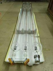 Venda por grosso 80W 100W 300W 400W 600 W de pequena potência elevada e fornecedor de tubo de laser de CO2 estanque