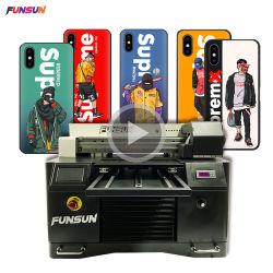 Funsunの電話箱の木製のペンの球の陶磁器A3紫外線平面プリンター