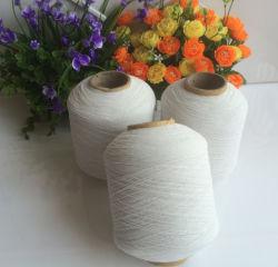 ソックスの編むことのための907575ポリエステルゴムによって覆われる糸