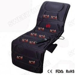 Vibrating Aquecimento colchão de cama tapete massajador de corpo inteiro do bocal de eléctrico de trás do assento almofada de Massagem Shiatsu